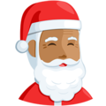 Santa Claus: Medium Skin Tone on Messenger 1.0