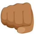 Oncoming Fist: Medium Skin Tone on Messenger 1.0
