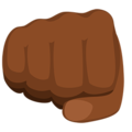 Oncoming Fist: Medium-Dark Skin Tone on Messenger 1.0