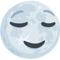 Full Moon With Face on Messenger 1.0