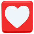 Heart Decoration on Messenger 1.0