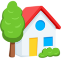 House With Garden on Messenger 1.0