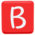 B Button (blood Type) on Messenger 1.0