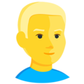 Blond-Haired Person on Messenger 1.0