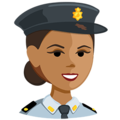 Police Officer: Medium Skin Tone on Messenger 1.0