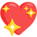 Sparkling Heart on Messenger 1.0