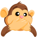 Speak-No-Evil Monkey on Messenger 1.0