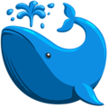 Spouting Whale on Messenger 1.0