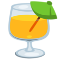 Tropical Drink on Messenger 1.0