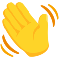 Waving Hand on Messenger 1.0