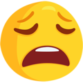 Weary Face on Messenger 1.0