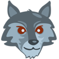 Wolf Face on Messenger 1.0