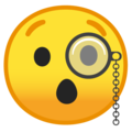 Face With Monocle on Google Android O Beta