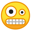 Crazy Face on Google Android O Beta
