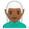 Man Elf: Medium-Dark Skin Tone on Google Android O Beta