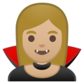 Vampire: Medium-Light Skin Tone on Google Android O Beta