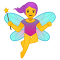 Woman Fairy on Google Android O Beta