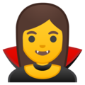 Woman Vampire on Google Android O Beta
