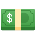 Dollar Banknote on Google Android 8.0