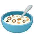 Bowl With Spoon on Google Android 8.0