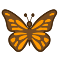 Butterfly on Google Android 8.0