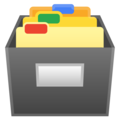 Card File Box on Google Android 8.0