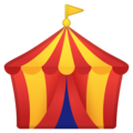 Circus Tent on Google Android 8.0