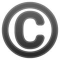 Copyright on Google Android 8.0