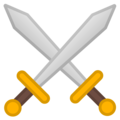 Crossed Swords on Google Android 8.0