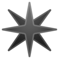 Eight-Pointed Star on Google Android 8.0