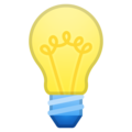 Light Bulb on Google Android 8.0