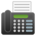 Fax Machine on Google Android 8.0