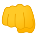 Oncoming Fist on Google Android 8.0