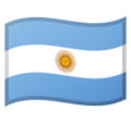 Argentina on Google Android 8.0