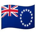 Cook Islands on Google Android 8.0