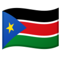 South Sudan on Google Android 8.0