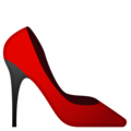 High-Heeled Shoe on Google Android 8.0