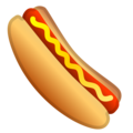 Hot Dog on Google Android 8.0