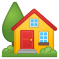 House With Garden on Google Android 8.0