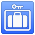 Left Luggage on Google Android 8.0