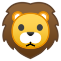 Lion Face on Google Android 8.0