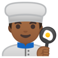 Man Cook: Medium-Dark Skin Tone on Google Android 8.0