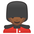 Man Guard: Medium-Dark Skin Tone on Google Android 8.0