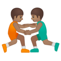Men Wrestling, Type-4 on Google Android 8.0