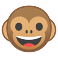 Monkey Face on Google Android 8.0