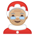 Mrs. Claus: Medium-Light Skin Tone on Google Android 8.0