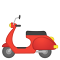 Motor Scooter on Google Android 8.0