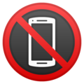 No Mobile Phones on Google Android 8.0