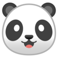 Panda Face on Google Android 8.0