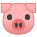 Pig Face on Google Android 8.0